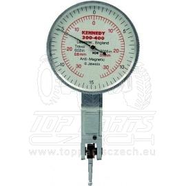 Číselníkový úchylkoměr testovací nemagnetický 43mm / 0,6mm