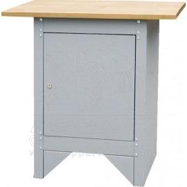 Uzamykatelná skříň s pracovní deskou 838x508x852 mm