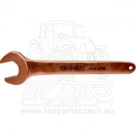 Nejiskřivý klíč maticový jednostranný 14mm, délka 125mm Kennedy