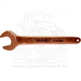 Nejiskřivý klíč maticový jednostranný 24mm, délka 195mm Kennedy