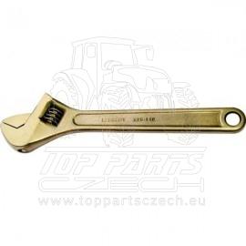 Nejiskřivý klíč stavitelný 18mm, délka 150mm KENNEDY