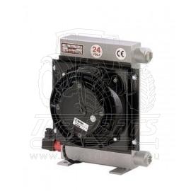 Hliníkový chladič hydrauliky 24V ,10-80l