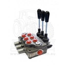 3 páčkový hydraulický rozvaděč typ BASIC H 2 DE, 1 SE