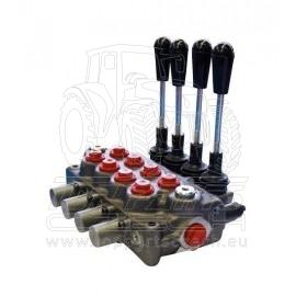 Čtyřpáčkový hydraulický rozvaděč typ BASIC H