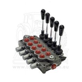 6-ti páčkový hydr. rozvaděč typ SD5, G
