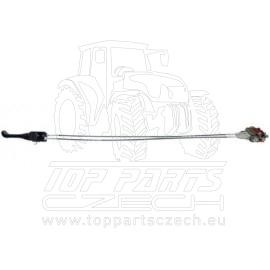 hydraulický rozvaděč s lanovody 180bar/45 l/1500 mm