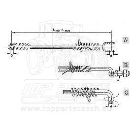 Stabilizátor DHSL OV 580-622mm