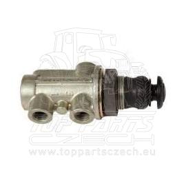 Třístupňový ventil