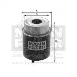 WK8166 Výměnný palivový filtr