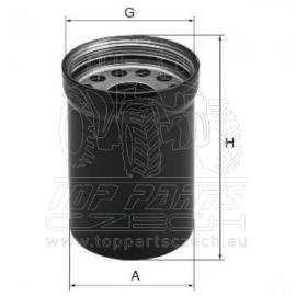 W1022 Výměnný filtr mazacího oleje