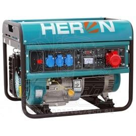 elektrocentrála benzínová 15HP/6,8kW (400V) 5,5kW (230V)