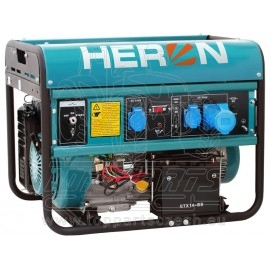 elektrocentrála benzínová 15HP/7kW, elektrický start