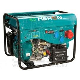 elektrocentrála benzínová a plynová (LGP/NG) 13HP/5,3kW (400V) 2x2,1kW (230V), elektrický start