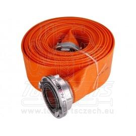 """hadice B75 PVC, 3"""", 10m se spojkami"""