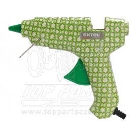 pistole tavná lepící, květinová, 40W