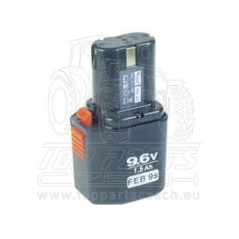 baterie akumulátorová 9,6V pro 8891103 a 8891105