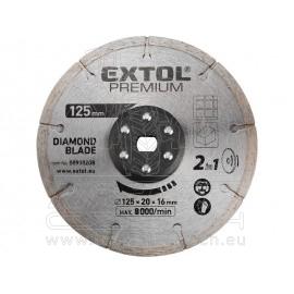 kotouc řezný, diamantový, 125x20mm