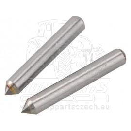 hrot, 2ks,∅3,1x21mm, karbid wolframu