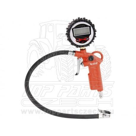 plnič pneumatik s manometrem, digitální