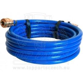 """hadice vzduchová PVC s rychlospojkami, 1/4"""", vnitřní∅6mm, vnější∅12mm, L 10m"""