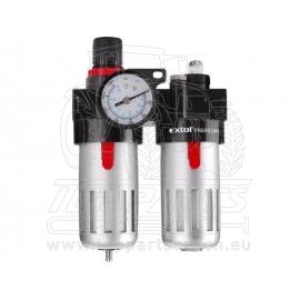regulátor tlaku s filtrem, manometrem a přim. oleje