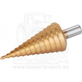 vrták stupňovitý,∅4-39mm, TiN
