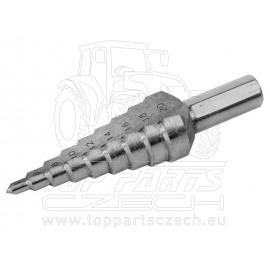 vrták stupňovitý,∅4-20mm, HSS