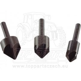 záhlubníky do vrtačky 90°, sada 3ks,∅12-16-19mm
