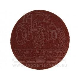 papír brusný výsek, suchý zip, bal. 10ks, 125mm, P40