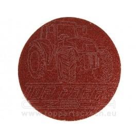 papír brusný výsek, suchý zip, bal. 10ks, 125mm, P80