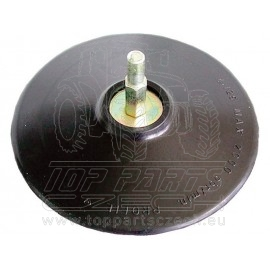 nosič brusných výseků do vrtačky - šroub. uchycení,∅125mm, stopka 8mm