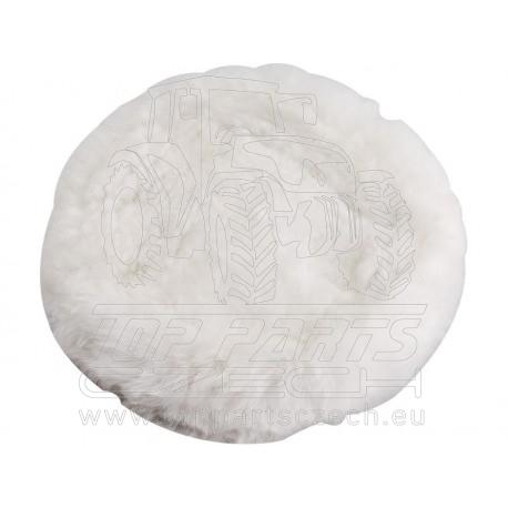 kotouč leštící,∅180mm, ovčí rouno, suchý zip