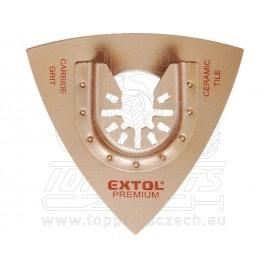 rašple trojúhelníková, 78mm, tvrdokov