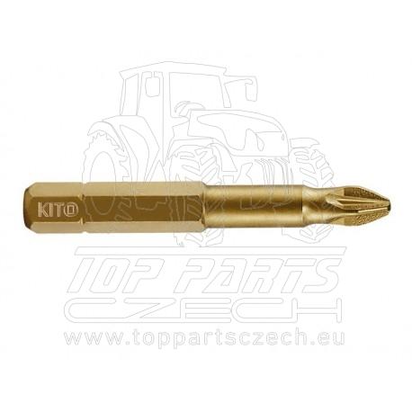 hrot, PZ 2x50mm, S2/TiN