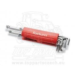 L-klíče imbus, sada 9ks, H1-10mm