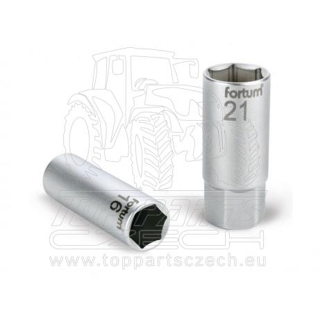 """hlavice nástrčná na zapalov. svíčky, 1/2"""", 16mm, L 65mm"""
