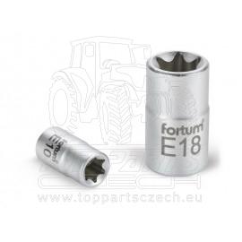 """hlavice nástrčná vnitřní TORX, 1/4"""", E 4, L 25mm"""