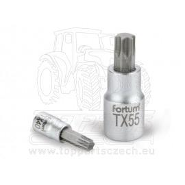 "hlavice zástrčná TORX, 1/2"", TX 45, L 55mm"
