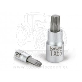 "hlavice zástrčná TORX, 1/2"", TX 55, L 55mm"